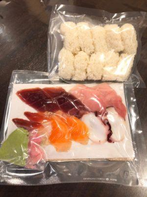 おうちで握れる寿司セット